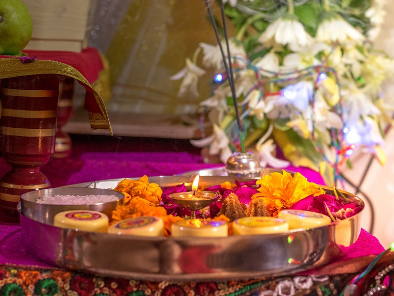 Krishna Janmashtami Decoration