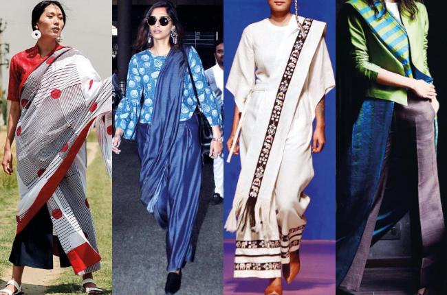 sari or pants