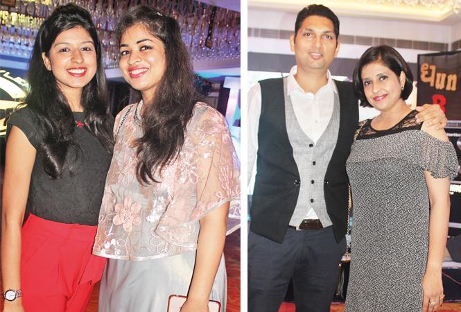 (L) Shagun and Gitika Jain (R) Eklavye and Shagun Singh (BCCL/ Arvind Kumar)