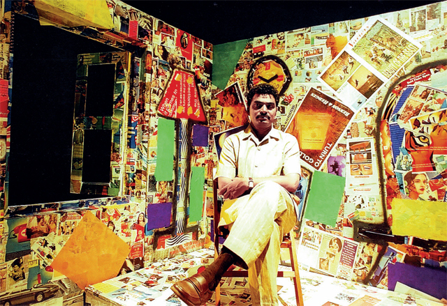 Sayaji Shinde in Tumbara, which was penned by the Marathi actor himself