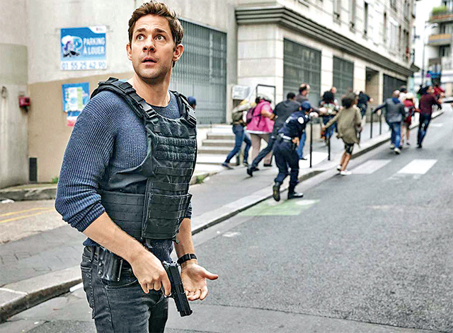 A still from the American web series, Jack Ryan