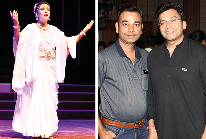 (L) Shubhra Mittal (R) Sanjay and Avichal (BCCL/ Aditya Yadav)
