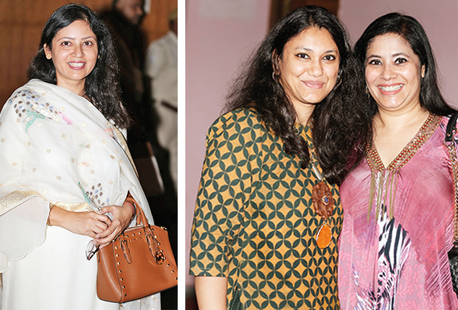 (L) Nidhi Prakash (R) Neha and Shailja (BCCL/ Aditya Yadav)