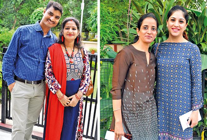 (L) Anjay and Kavita (R) Bina and Indu (BCCL/ AS Rathor)