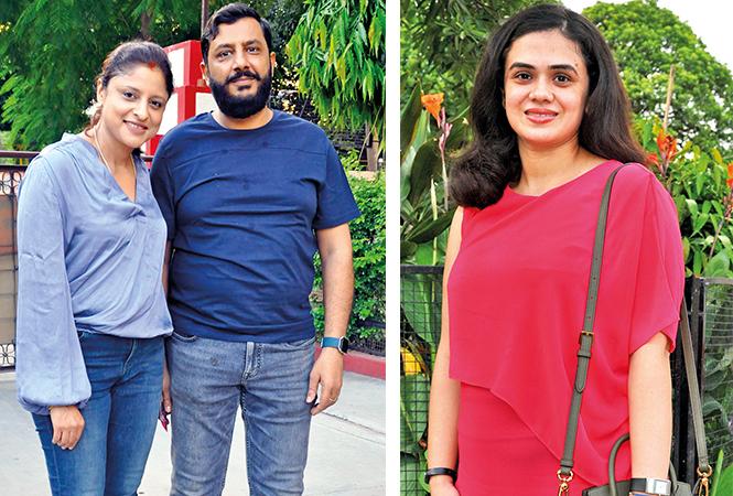 (L) Gauri and Amit (R) Isha (BCCL/ AS Rathor)