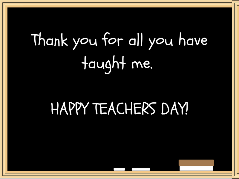 Happy Teachers Day 2018 Cards Images Quotes Greetings Gifs And