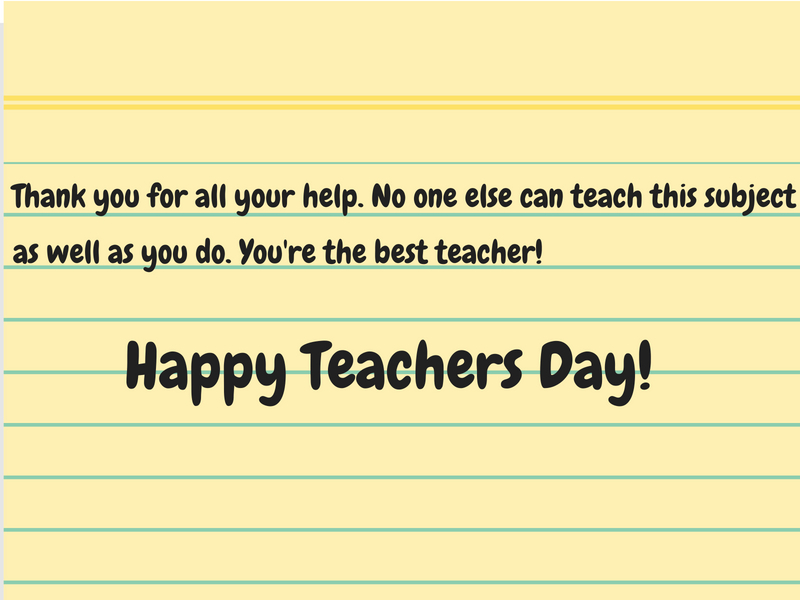 happy teachers day 2018 cards images quotes wishes thoughts messages