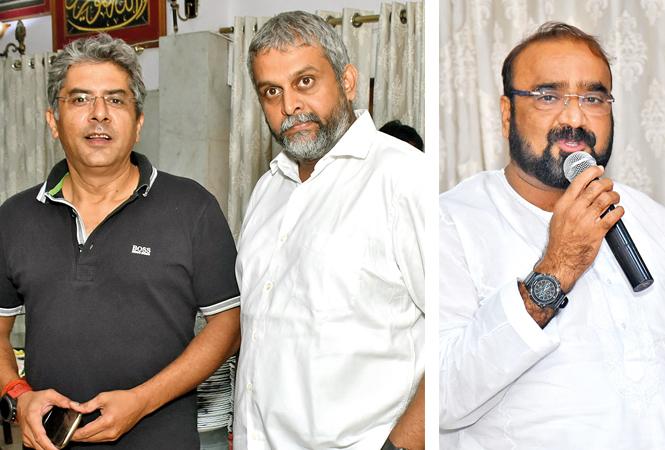 Deepak Wadhwa and Ajit Singh (R) Dr Razmi Yunus (BCCL/ Vishnu Jaiswal)