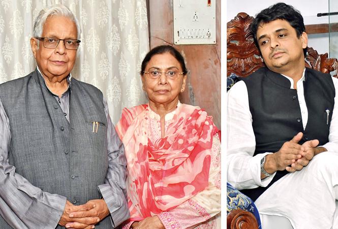 Dr Ammar Rizvi & Zakia Rizvi (R) Faizi Yunus (BCCL/ Vishnu Jaiswal)