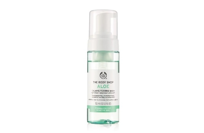 Bodyshop Aloe Gentle Facial Wash