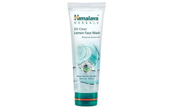 Himalaya OilClear lemon face wash