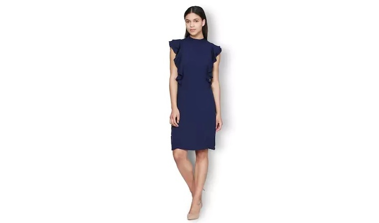 Van Heusen Navy Dress