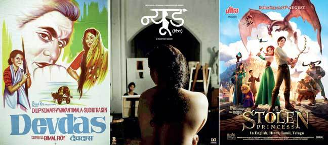 Devdas, one of Roy's classics; Ukrainian film, The Stolen Princess; and Nude are among the films showing at LIFFI