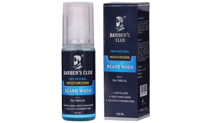 er's Club Moisturizing Beard Shampoo with Tea Tree Oil