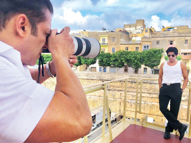 """I want the world to know how good a photographer Salman is. He made me look rather handsome"