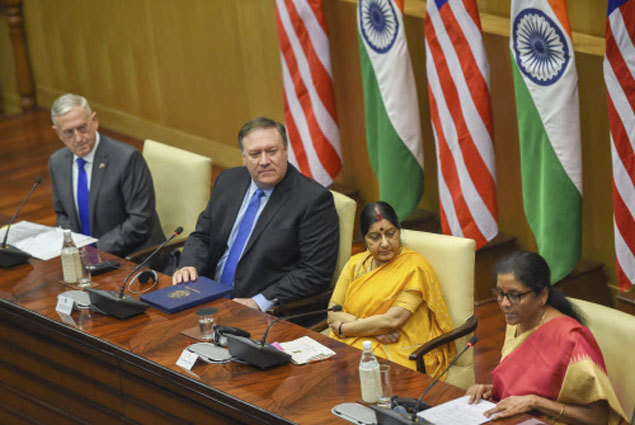 sushma-and-co1  India 'joins' Nato — well, almost | India News Master