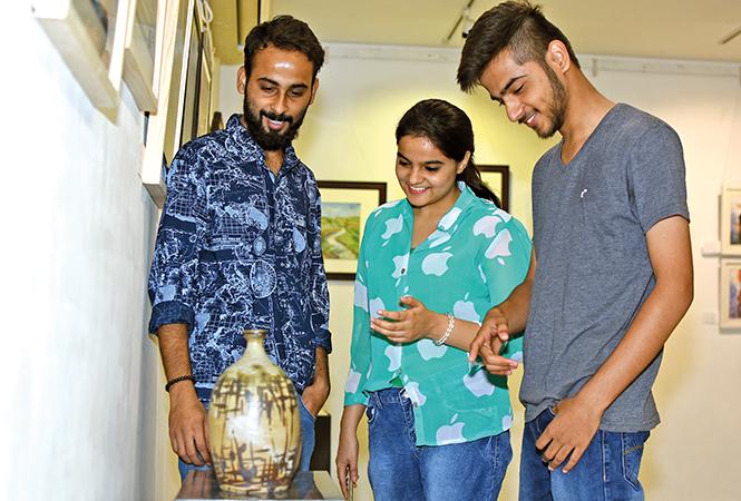 (L-R) Dikshant, Nikita and Kushal (BCCL/ Farhan Ahmad Siddiqui)