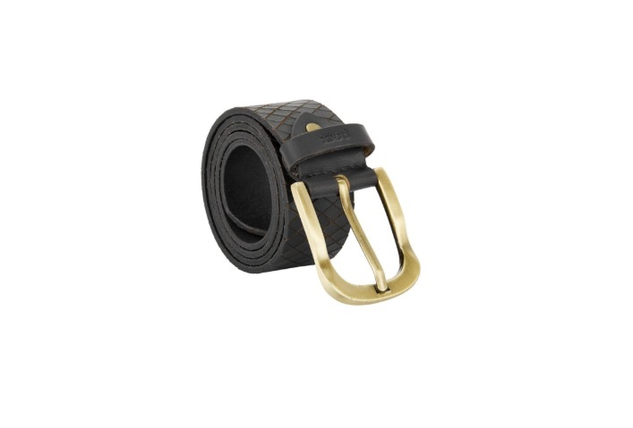 Parx Black Leather Belt