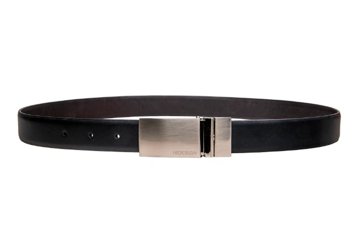 HIDESIGN ROBERT 01 BLACK LEATHER MENS BELT