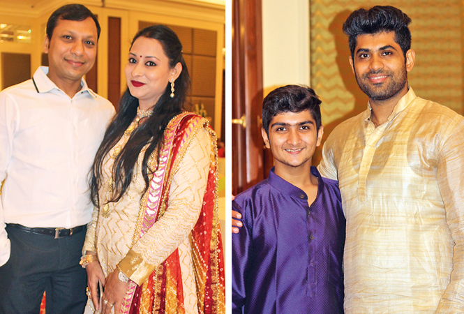 (L) Varun and Manisha (R) Vinayak and Ashish (BCCL/ Arvind Kumar)