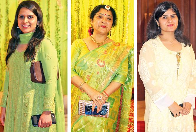 (L) Diksha (C) Dr Smita Tandon (R) Megha (BCCL/ Arvind Kumar)