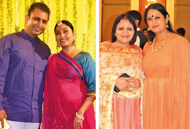 (L) Manish Khattry and Ankita Khattry (R) Meena and Pooja (BCCL/ Arvind Kumar)