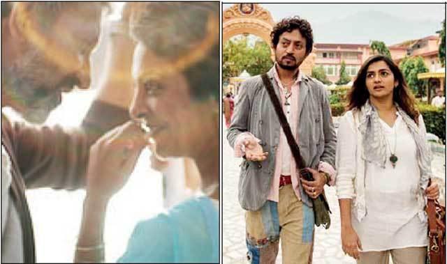 Stills from Kanwal Sethi's 'Once Again' and Tanuja Chandra's 'Qarib Qarib Singlle'