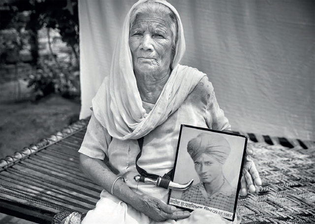"Jagir Kaur's son Hardial was declared dead in 1987. She has another son who is bedridden, and has very little connection with the outside world. ""We are poor, so if my son didn't die, would you ever be here? Would you be hearing my story?"" Kaur said."