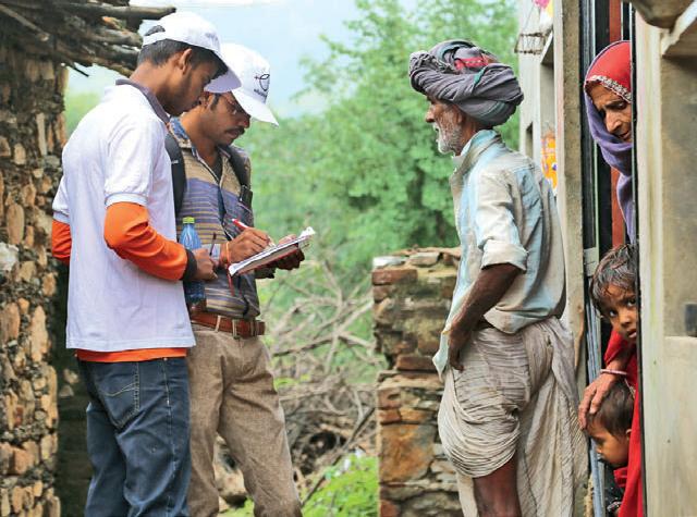 The NGO conducted a door-todoor survey of 34,000 homes in Bhilwara to monitor its progress