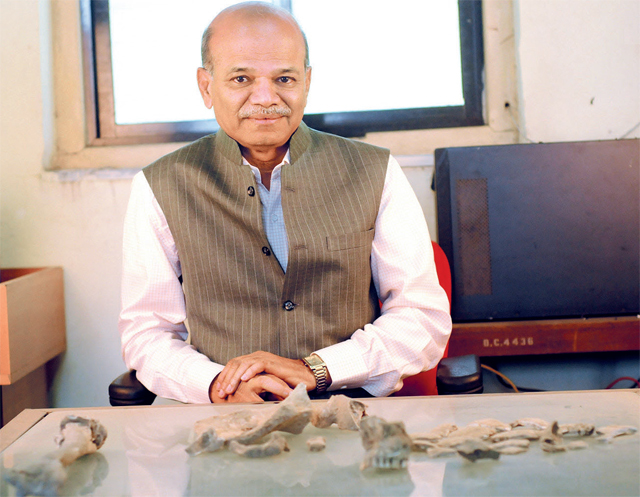 Dr Vasant Shinde has been excavating across Gujarat, Rajasthan and Haryana since 1986 to uncover the secrets of the Harappan civilisation