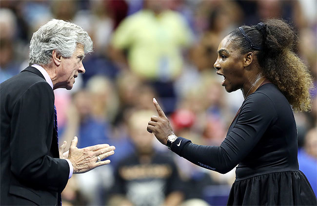 Serena2  US open 2018 | Serena Williams: 'I am not a cheat', accuses tennis of 'sexism' Master