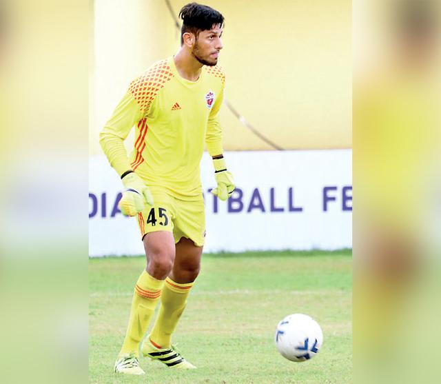 FC Pune City goalkeeper Bilal Khan