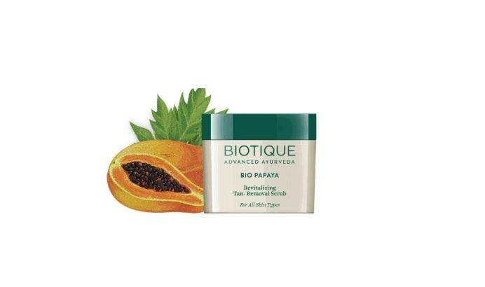 Bio Papaya Revitalising Tan Removal Scrub