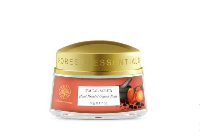 Forest Essentials Hand Pounded Fruit Scrub