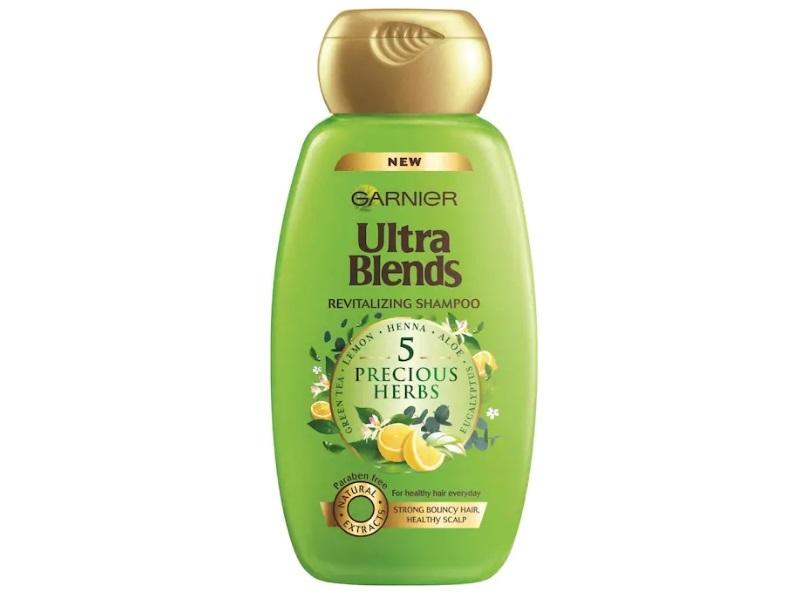 Garnier Ultra Blends 5 Precious Herbs Revitalizing Shampoo