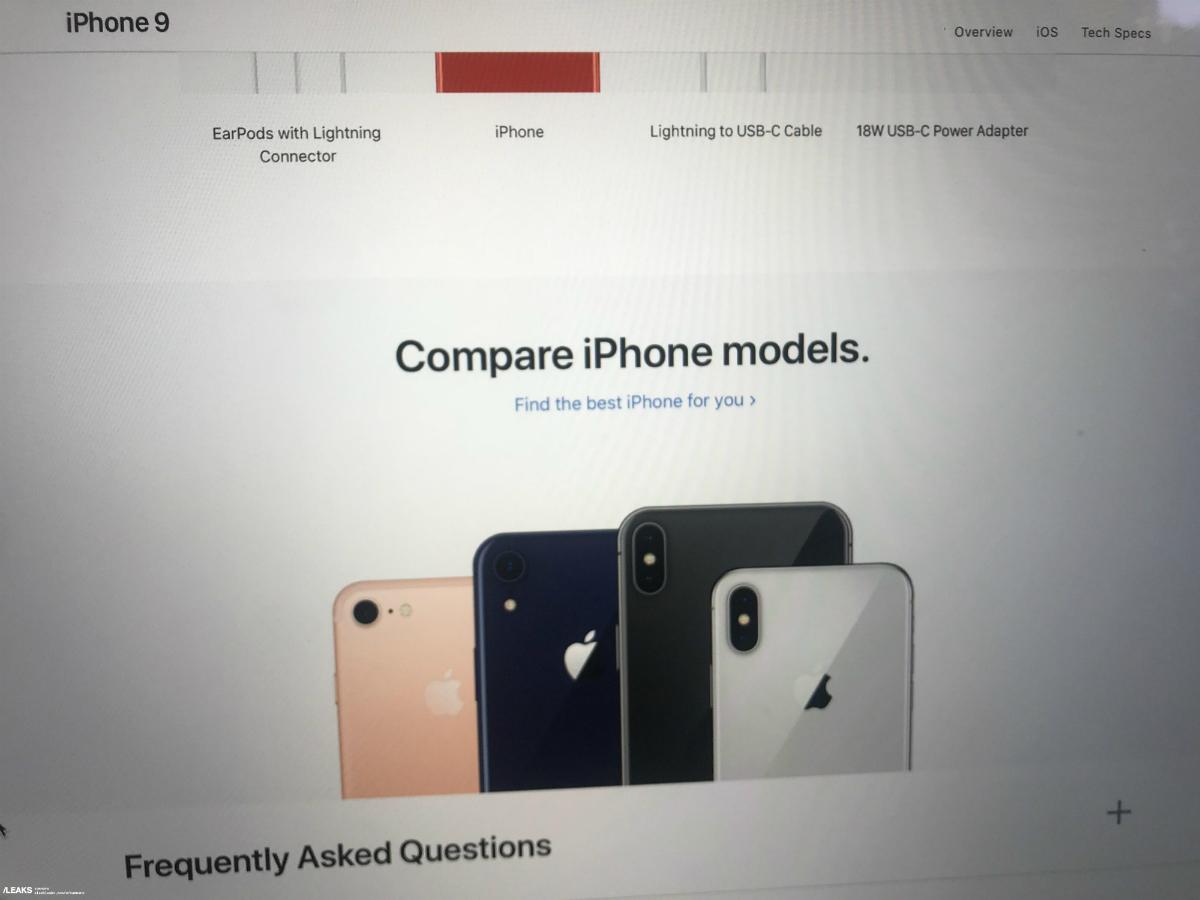 best value 93367 eb02d iPhone 9: Apple 'iPhone 9' shows up in Spicy Orange, Cobalt Blue ...