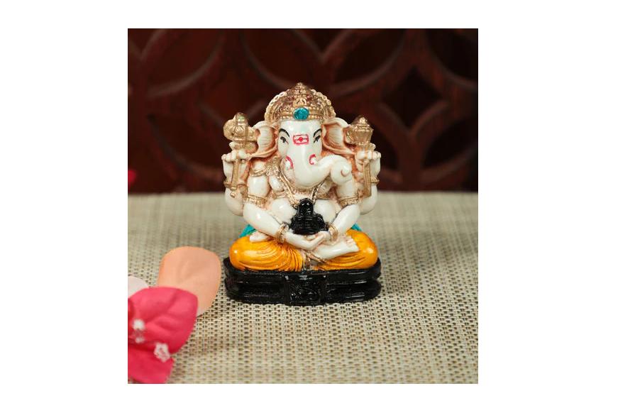 Fiber Ganesha Idol