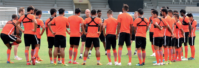 The match is scheduled to kick-off at IST 7pm and will telecast live on DSport. (FILE PHOTO)