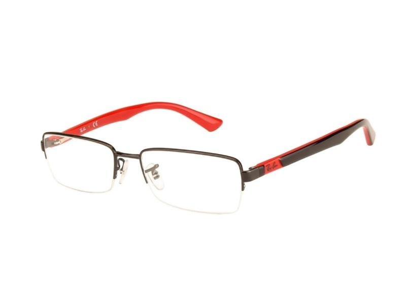 Ray Ban Rectangle Eyeglasses for Round Face
