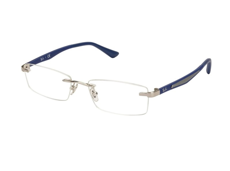 Ray Ban Rimless Eyeglasses for Heart Shaped Face