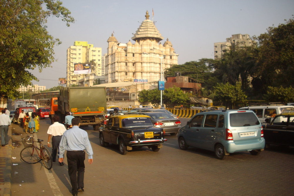 Image result for taxi to siddhivinayak temple