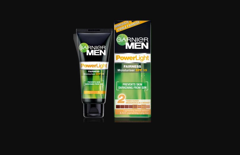 Garnier Men's power white Fairness moisturizer