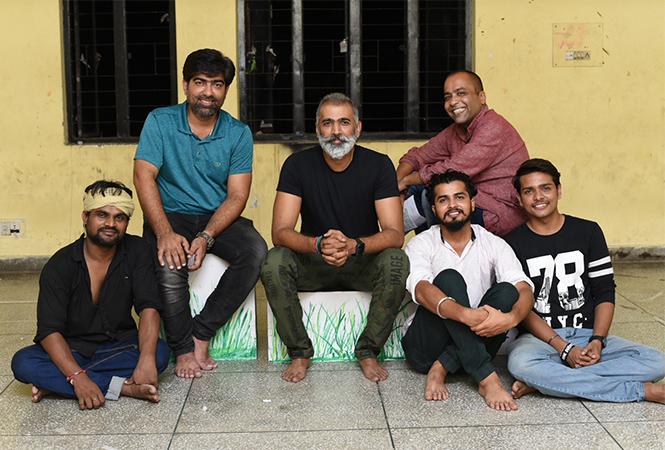 (L-R) Hemant, Amit Sharma, Bhoopesh Rai, Arav, Pramesh Agarwal and Devang (BCCL)