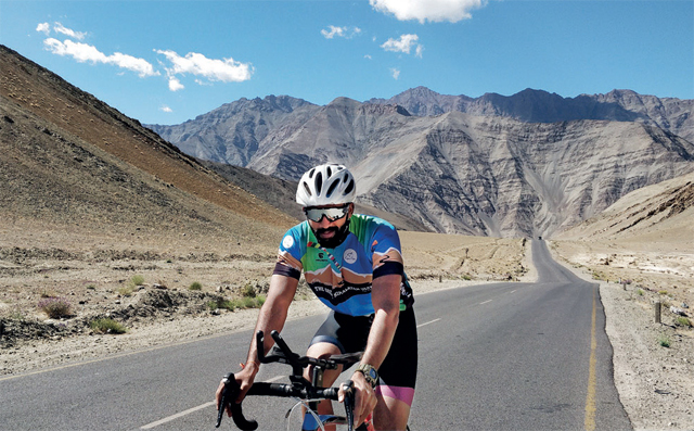 For most of the race, Rachure was trailing Amit Samarth, who had completed RAAM as well as the Trans Siberian Extreme. He finally reached Drass at 11 pm