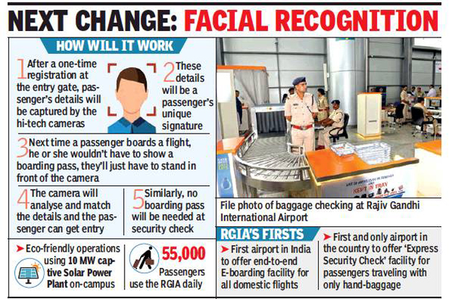 image  First flight: Soon your face will be your boarding pass at Hyderabad airport | Hyderabad News Master
