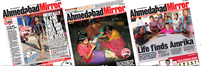 Mirror relentlessly followed the story of Amrika for days, bringing her plight to the notice of authorities and readers