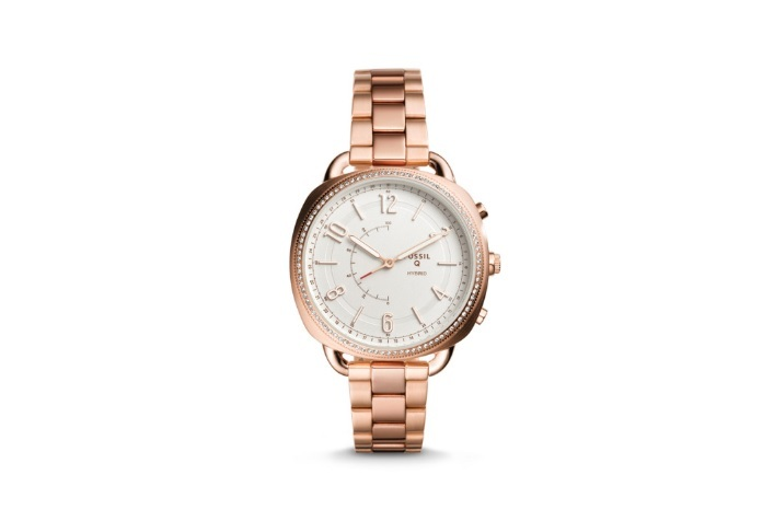 Fossil Hybrid Smartwatch-Q in Rose Gold, Stainless Steel
