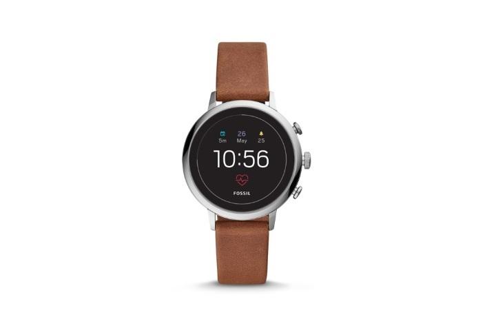 Fossil Venture Analog-Digital Black Dial Women's Watch