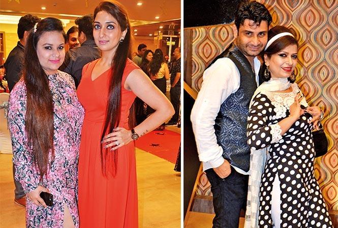 (L) Princy and Manisha (R) Rakesh and Tanvi (BCCL/ IB Singh)