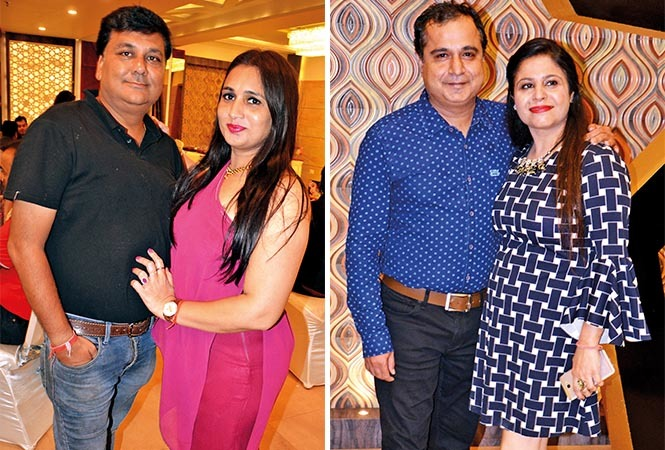 (L) Vineet and Sandhya (R) Vishal and Kratika (BCCL/ IB Singh)